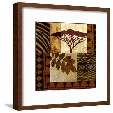 Acacia Sunrise II-Keith Mallett-Framed Art Print