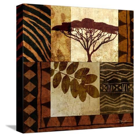 Acacia Sunrise II-Keith Mallett-Stretched Canvas Print