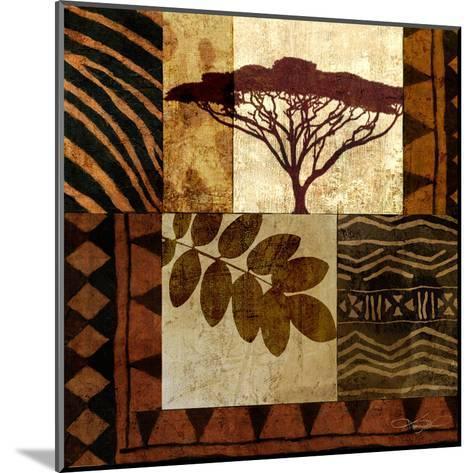 Acacia Sunrise II-Keith Mallett-Mounted Art Print