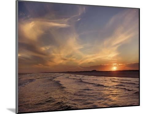 Corpus Christi Sunset-Mike Jones-Mounted Art Print