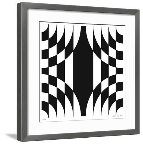 Op Circles III-Paula Scaletta-Framed Art Print