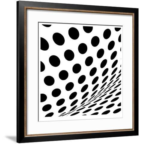 Op Dots II-Paula Scaletta-Framed Art Print