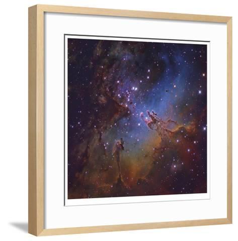 The Eagle Nebula in Serpens-Robert Gendler-Framed Art Print