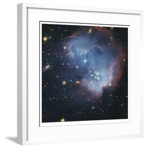 Star Forming Region in the Small Magellanic Cloud-Robert Gendler-Framed Art Print