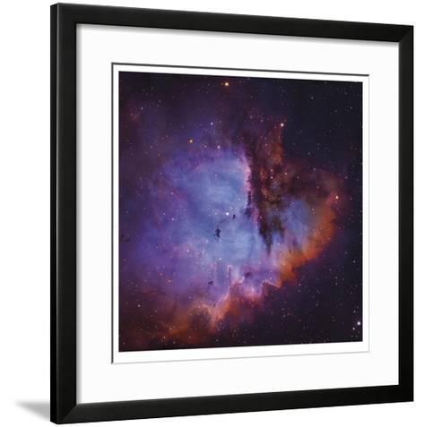 Emission Nebula and Open Cluster in Cassiopeia-Robert Gendler-Framed Art Print