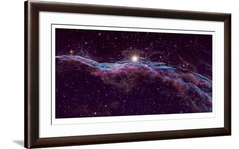 Veil Supernova Remnant-Robert Gendler-Framed Art Print