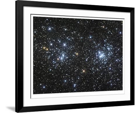 The Double Cluster-Robert Gendler-Framed Art Print