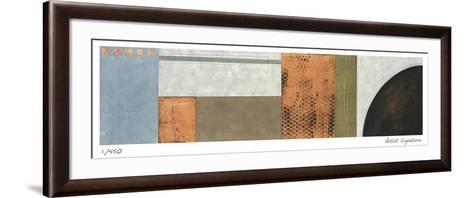 Contemporary Life II-Leigh Jordan-Framed Art Print