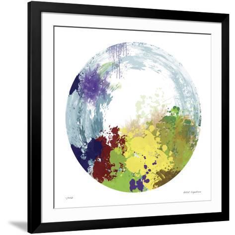 Earth Layers IV-Jan Weiss-Framed Art Print
