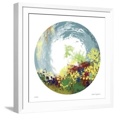 Earth Layers V-Jan Weiss-Framed Art Print
