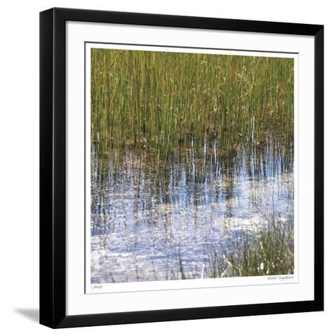 River Reeds I-Joy Doherty-Framed Art Print