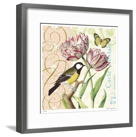 Floral Bliss II-Paula Scaletta-Framed Art Print