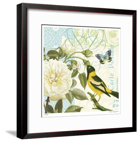 Floral Bliss III-Paula Scaletta-Framed Art Print