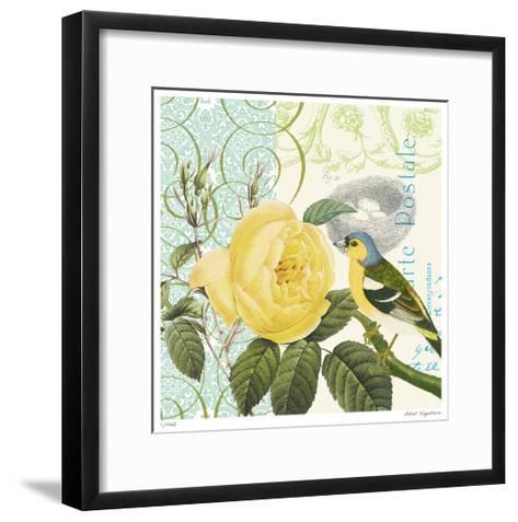 Floral Bliss IV-Paula Scaletta-Framed Art Print