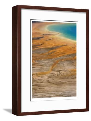 Grand Prismatic Spring II-Donald Paulson-Framed Art Print