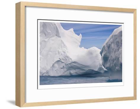 South Georgia Island Iceberg-Donald Paulson-Framed Art Print