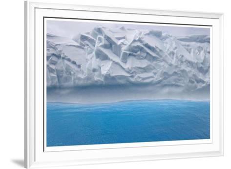 Iceberg Abstract-Donald Paulson-Framed Art Print