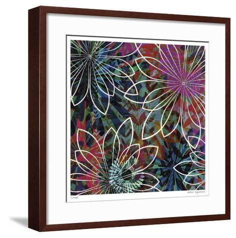 Night Garden I-James Burghardt-Framed Art Print