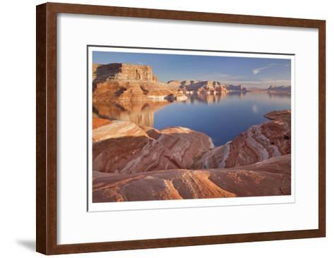 Lake Powell Eons of Time-Donald Paulson-Framed Art Print