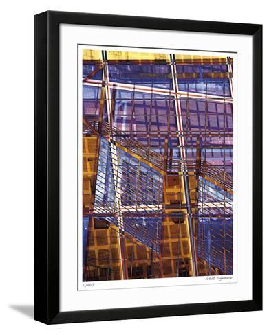 Staples Grid Patterns-Stephen Donwerth-Framed Art Print