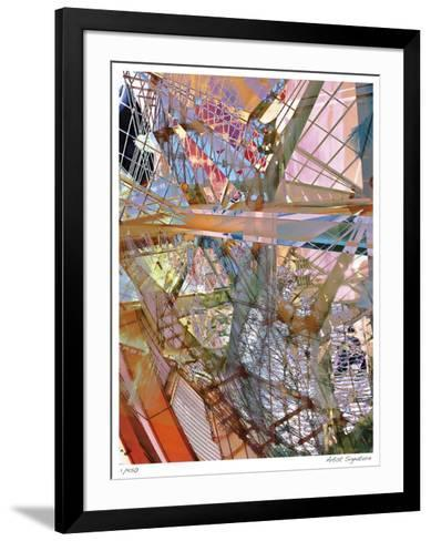 Steel and Glass Meld-Stephen Donwerth-Framed Art Print