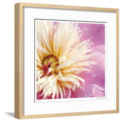 Peony Abstract-Stacy Bass-Framed Art Print