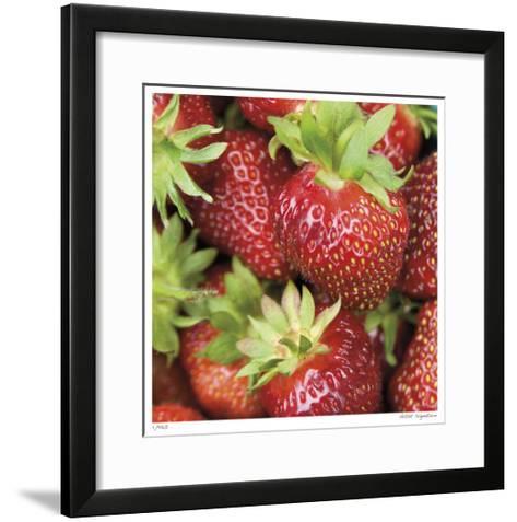 Strawberries-Stacy Bass-Framed Art Print