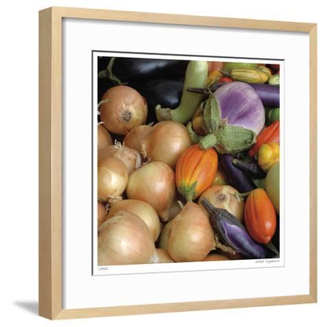 Garlic-Stacy Bass-Framed Art Print