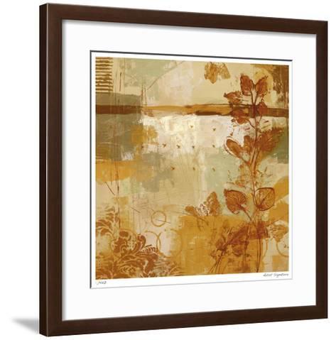 Fall Abstract II-Ursula Brenner-Framed Art Print