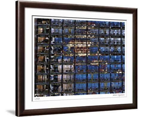 Waikiki Hotel-Stephen Donwerth-Framed Art Print