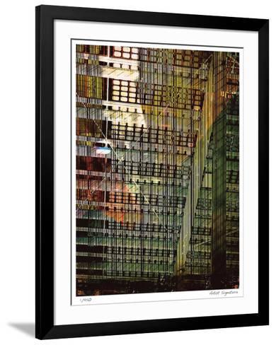 White X-Stephen Donwerth-Framed Art Print