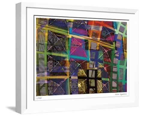 Los Angeles Geometry I-Stephen Donwerth-Framed Art Print