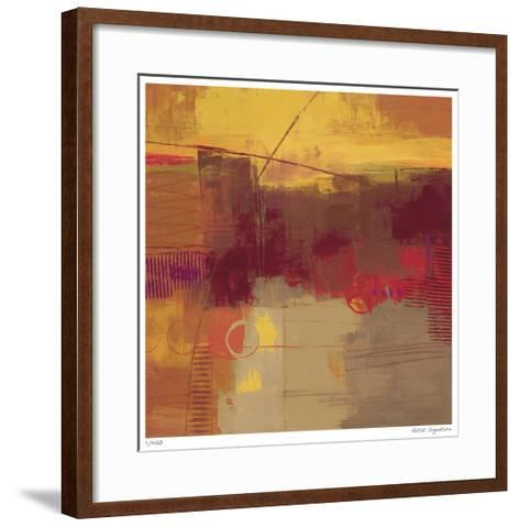 Shades of Autumn I-Ursula Brenner-Framed Art Print