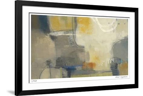 Shades of Winter-Ursula Brenner-Framed Art Print