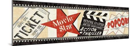 Movie Night-Pela Design-Mounted Art Print