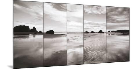Tides on Bandon Beach-Alan Majchrowicz-Mounted Art Print