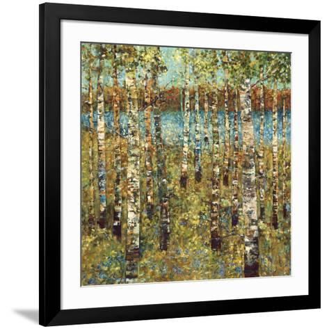 Purple Birch-Carmen Dolce-Framed Art Print