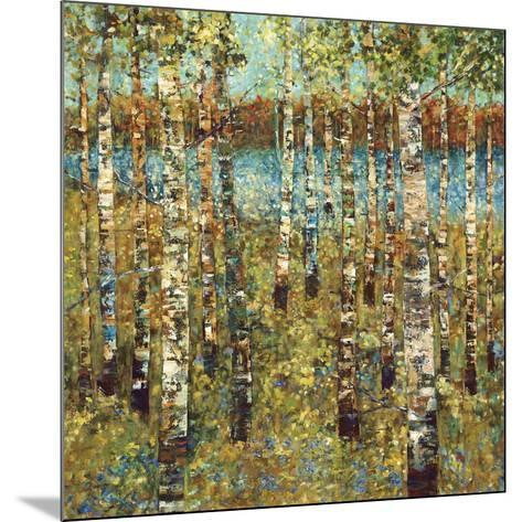 Purple Birch-Carmen Dolce-Mounted Art Print