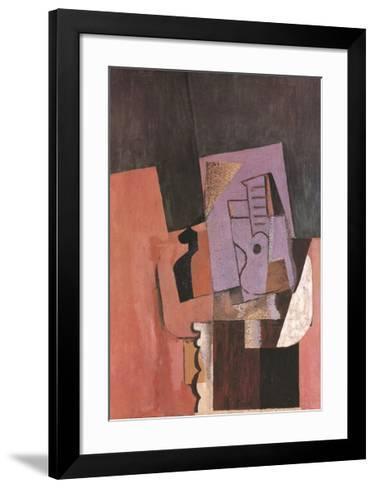 La Guitare-Pablo Picasso-Framed Art Print