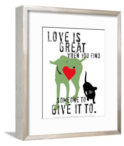 Love Is Great-Ginger Oliphant-Framed Art Print