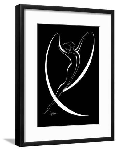 Flying Couple I-Alijan Alijanpour-Framed Art Print