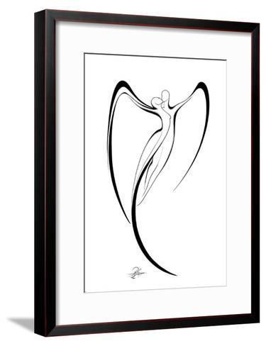 Flying Couple III-Alijan Alijanpour-Framed Art Print