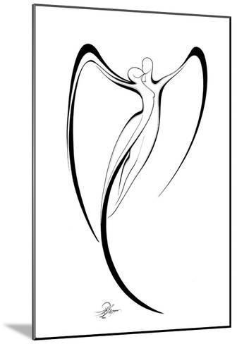 Flying Couple III-Alijan Alijanpour-Mounted Art Print