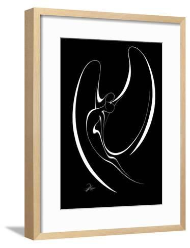 Flying Couple IV-Alijan Alijanpour-Framed Art Print
