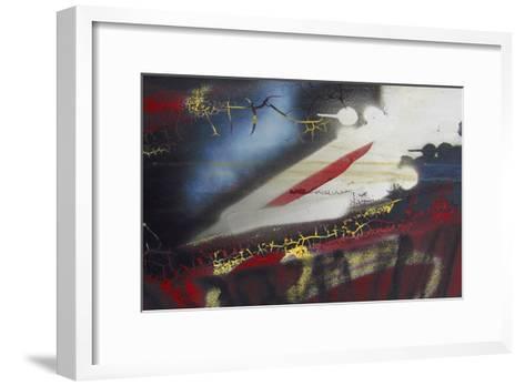 Old Grafitti I-Jean-Fran?ois Dupuis-Framed Art Print