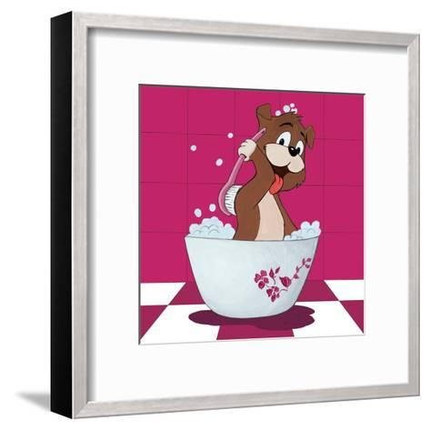 La Toilette II-Hanin-Framed Art Print