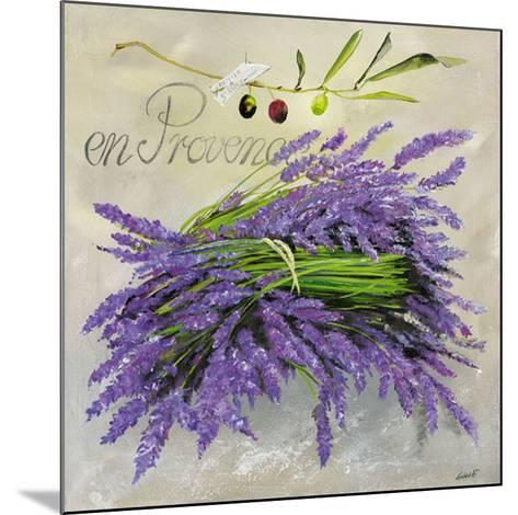 En Provence Lavande-Lizie-Mounted Art Print