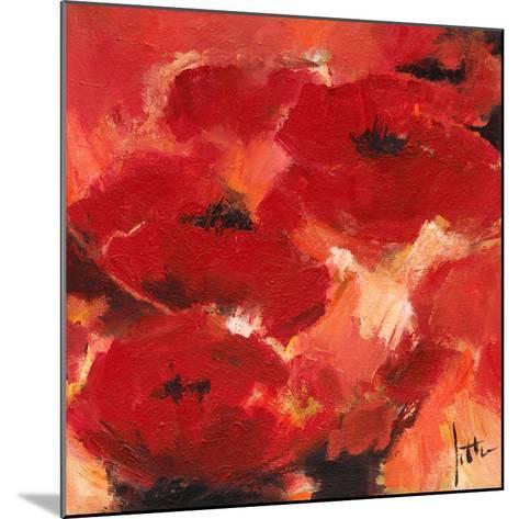 Abstract Flowers II-Jettie Roseboom-Mounted Art Print