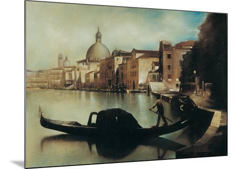 Sul Canal Grande-A. Sgarbossa-Mounted Art Print