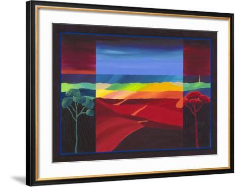 Lighthouse II-Cees Van Ostmalle-Framed Art Print